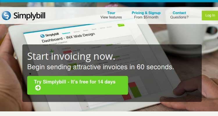 since simplybill is a web based invoicing software you can easily create send and track invoices with ease