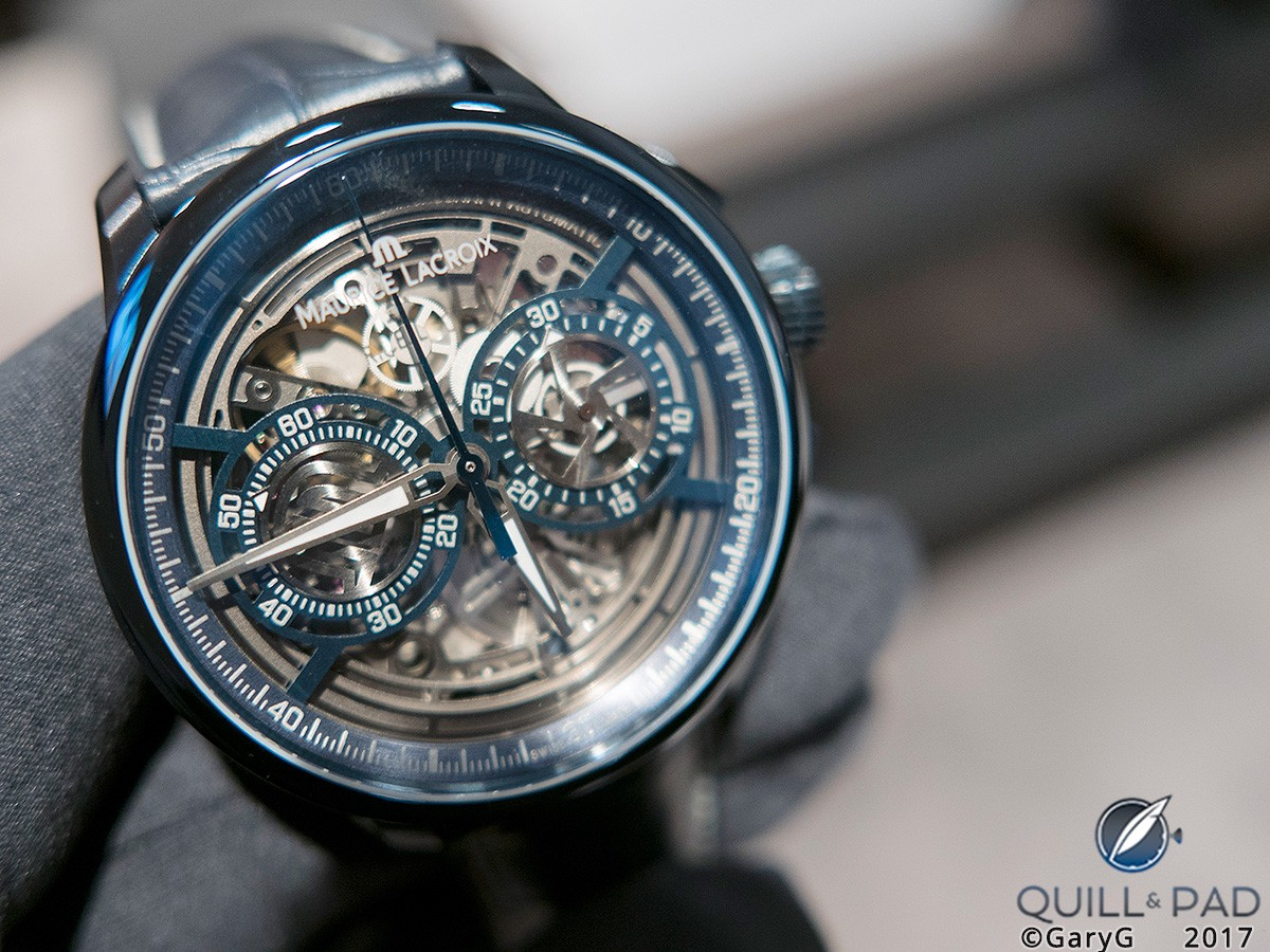 Maurice Lacroix Masterpiece Chronograph Skeleton at Baselworld 2017