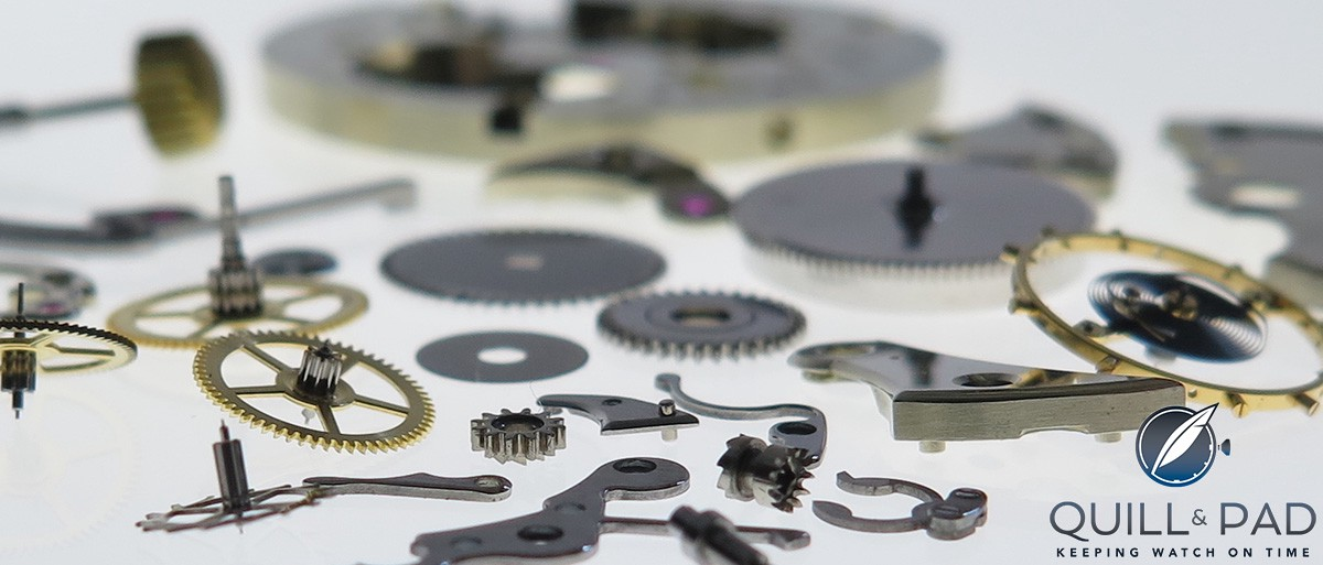 The Naked Watchmaker: Patek Philippe components (site under construction)