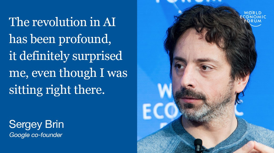 Sergey Brin: I didn't see AI coming