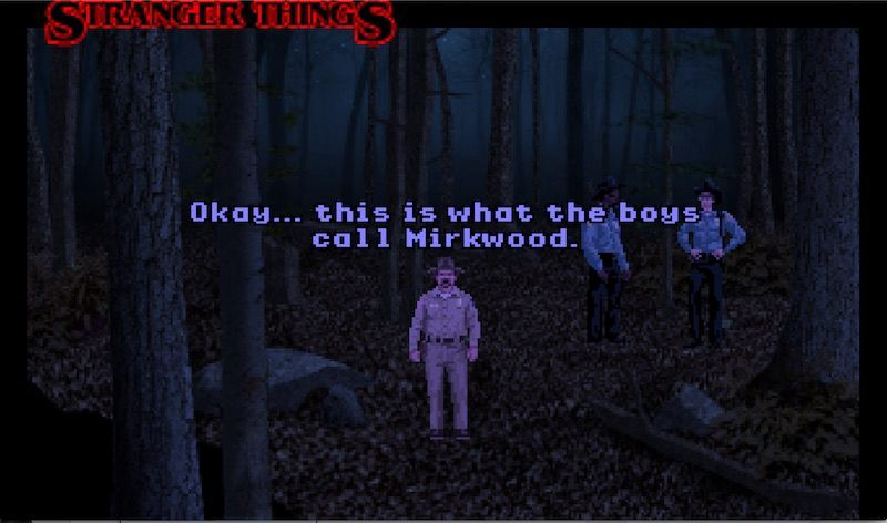 Stranger Things Point-and-Click