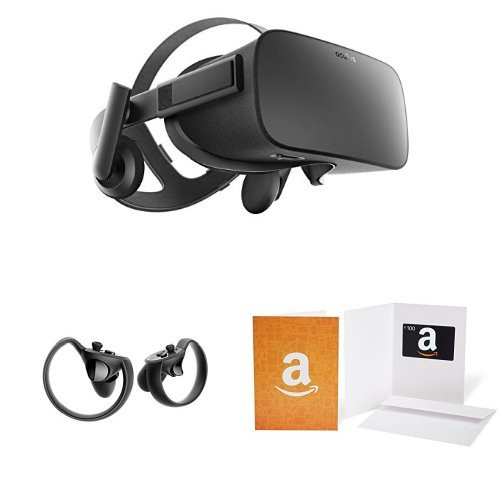 Oculus Rift + Touch + $100 Amazon gift card is $399 on Amazon Prime