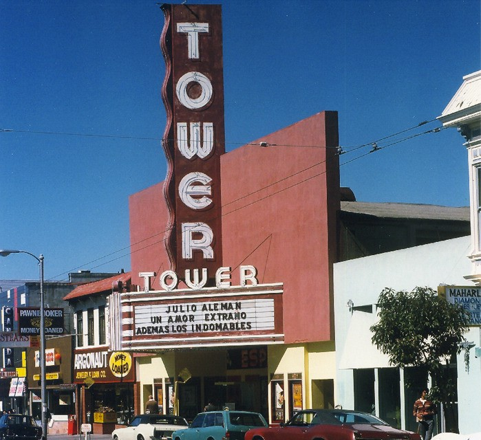 San Francisco's Abandoned Movie Theaters