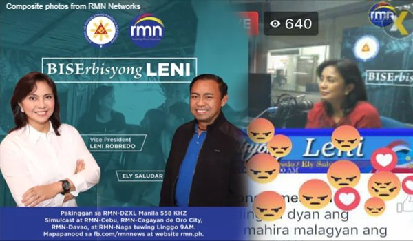 Political experts, netizens react negatively on Robredo radio show 'BISErbisyong LENI'