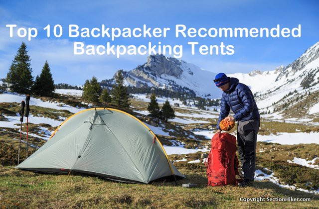 Top 10 Backpacker Backpacking Tents - 2017