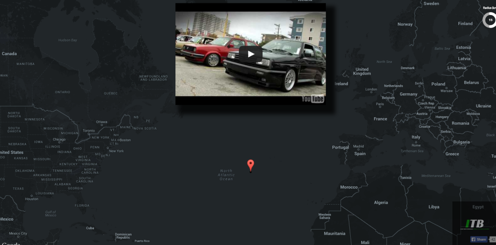 Youtube Map Explorer