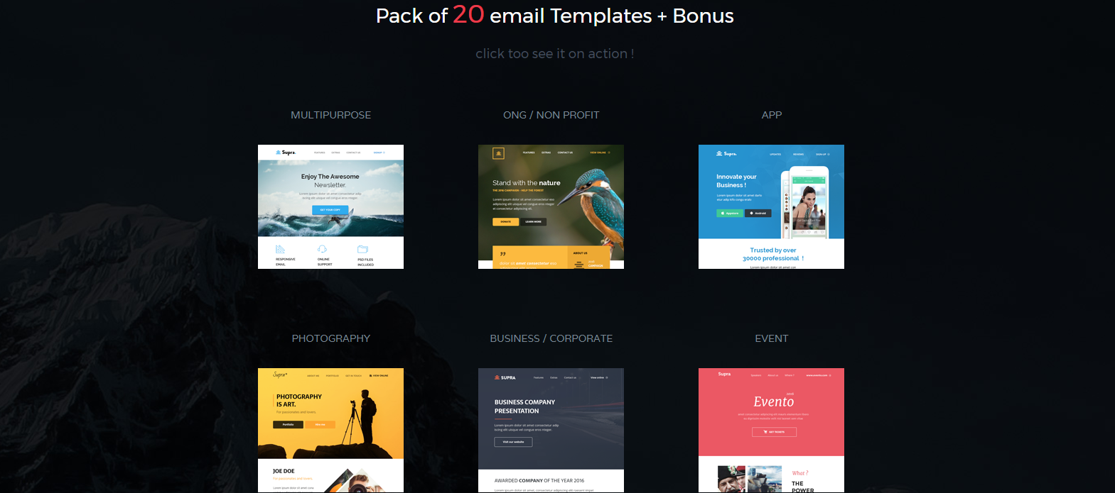 Best MailChimp Templates That Are Aesthetically Pleasing - Buy mailchimp templates