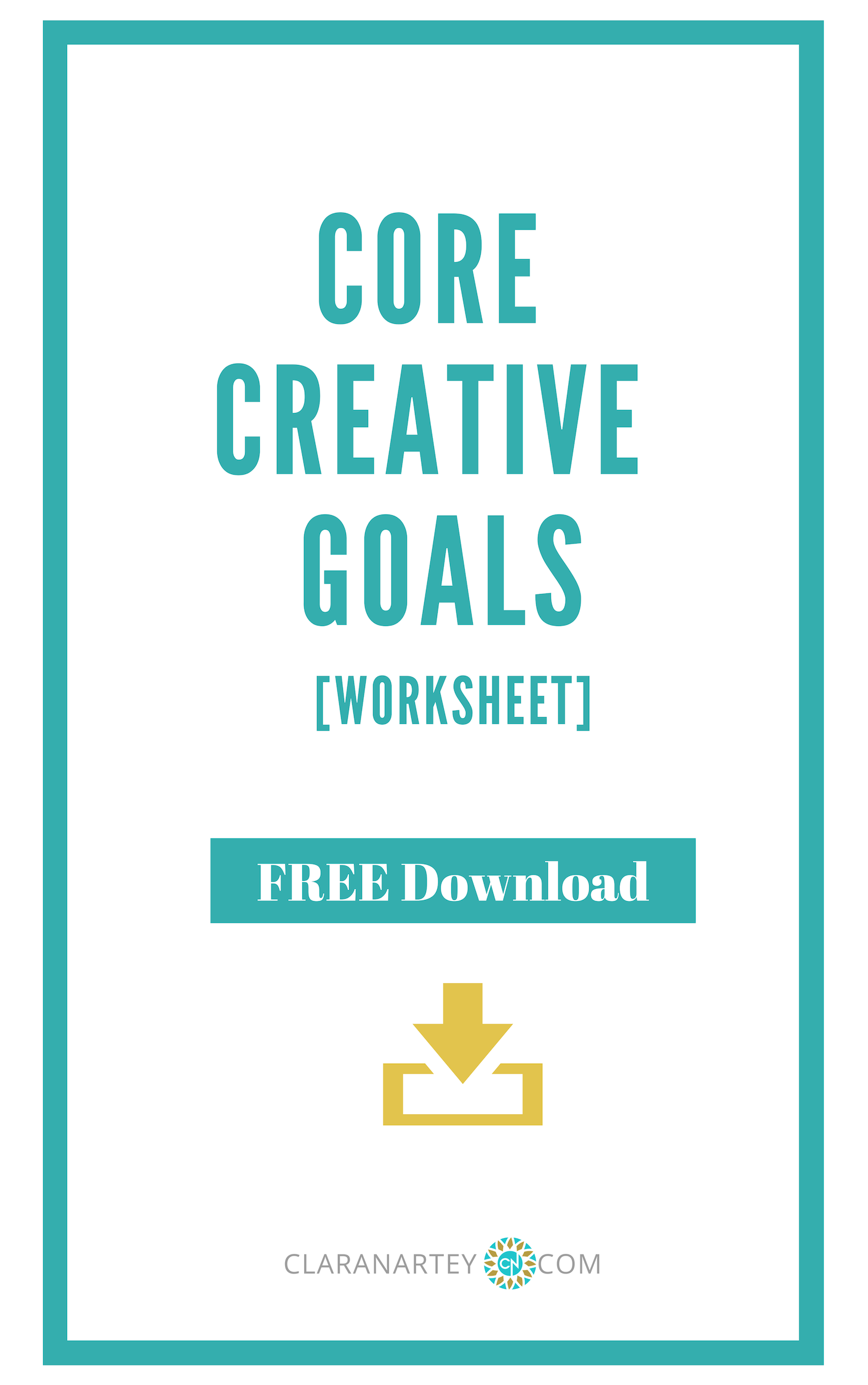 Core creative Goals set the direction for your creative life   Goal setting   Creative Goals  #Goals