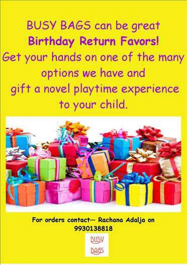 Send Your Lil Guest Home Happy Unique Birthday Return Gift Ideas In