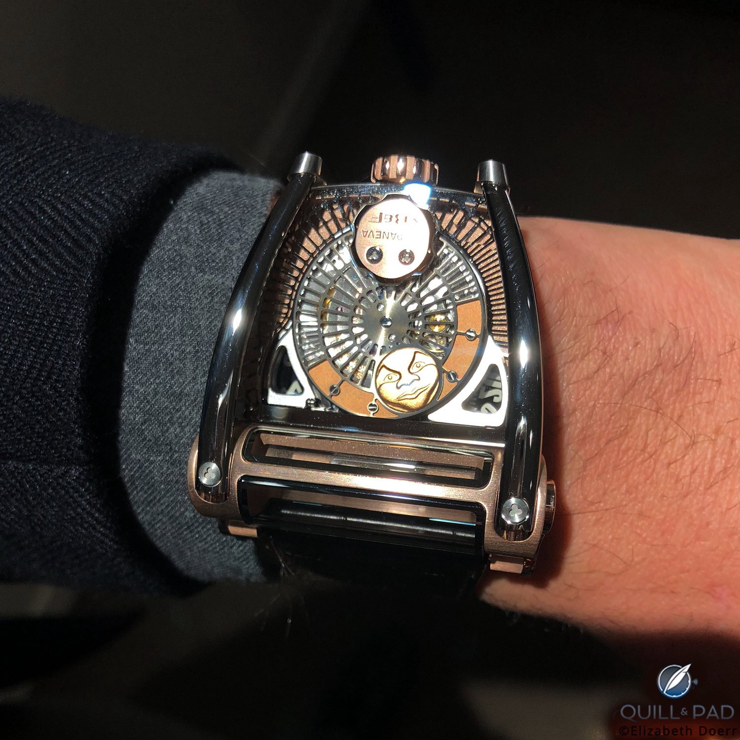 MoonMachine 2 by MB&F with Stepan Sarpaneva on the wrist