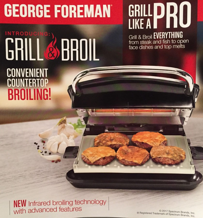 The new Foreman still grills, but now broils as well