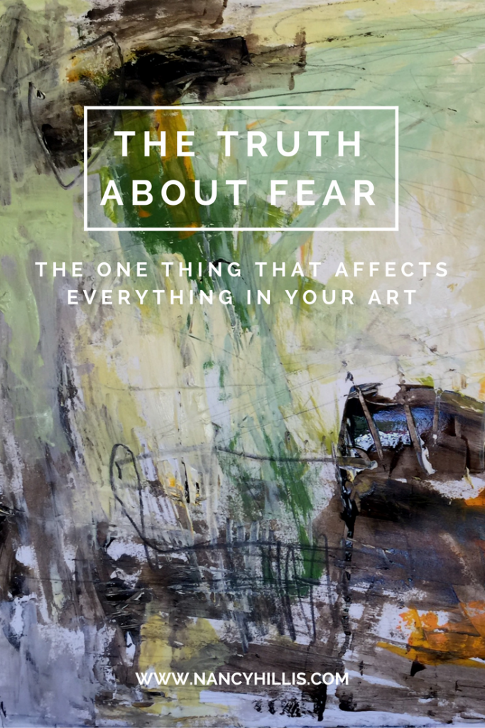 Discover How To Deal With Fear And Self Doubt As You Paint