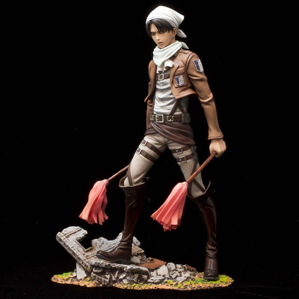 Levi Ackerman Cleaning Ver. BRAVE-ACT 1:8 Figure by Sentinel