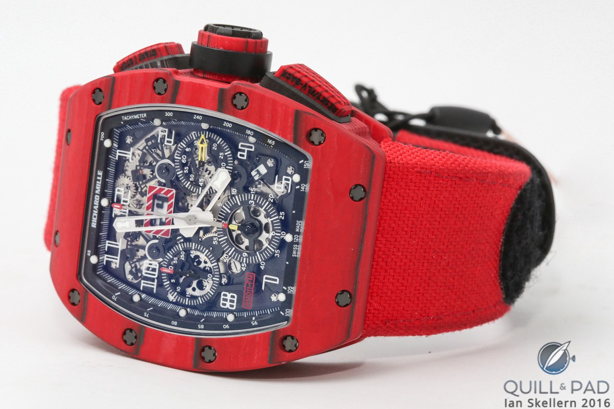 Richard Mille RM 011 Red TPT Quartz Automatic Flyback Chronograph