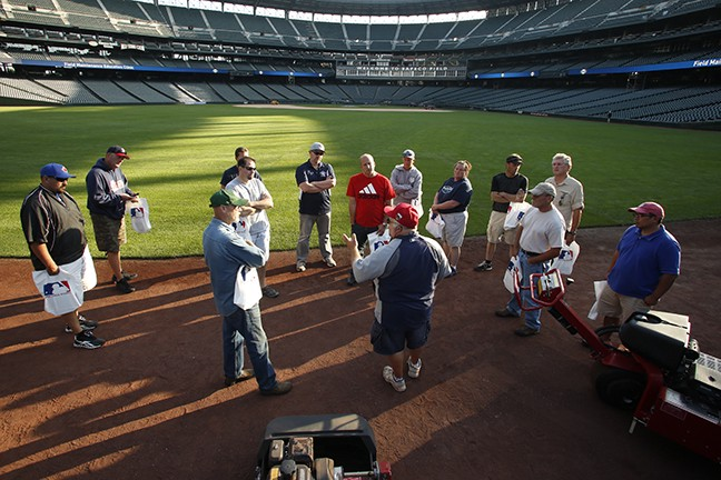 Becoming a MLB Groundskeeper
