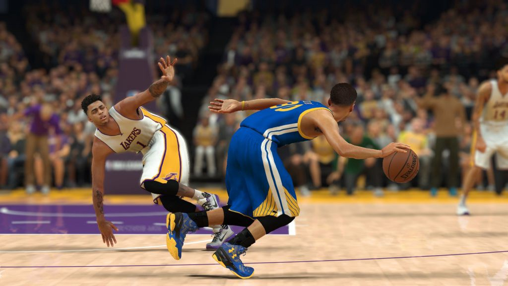 nba 2k17 review steph curry