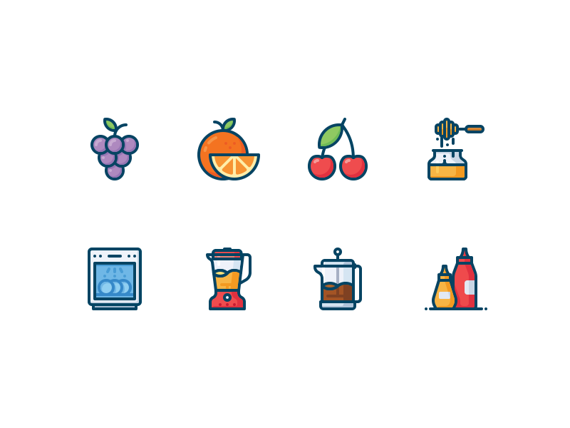 kitchen-and-food-icons-by-dmitriy-mir
