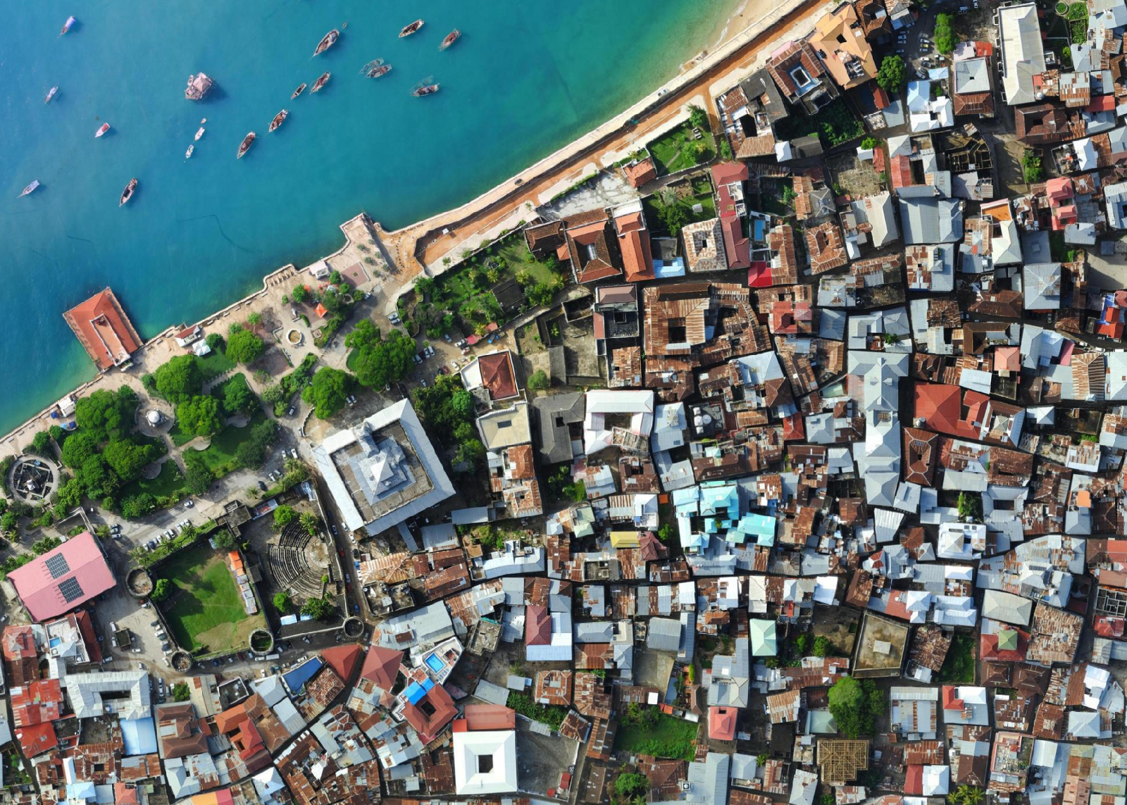 Building Web Maps In Zanzibar Points Of Interest