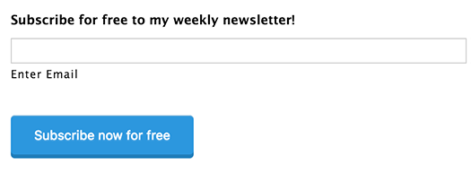 subscribe to my newsletter here