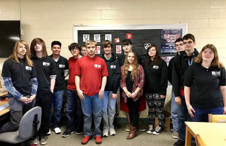 The 11th grade TCTC Web & App Dev students