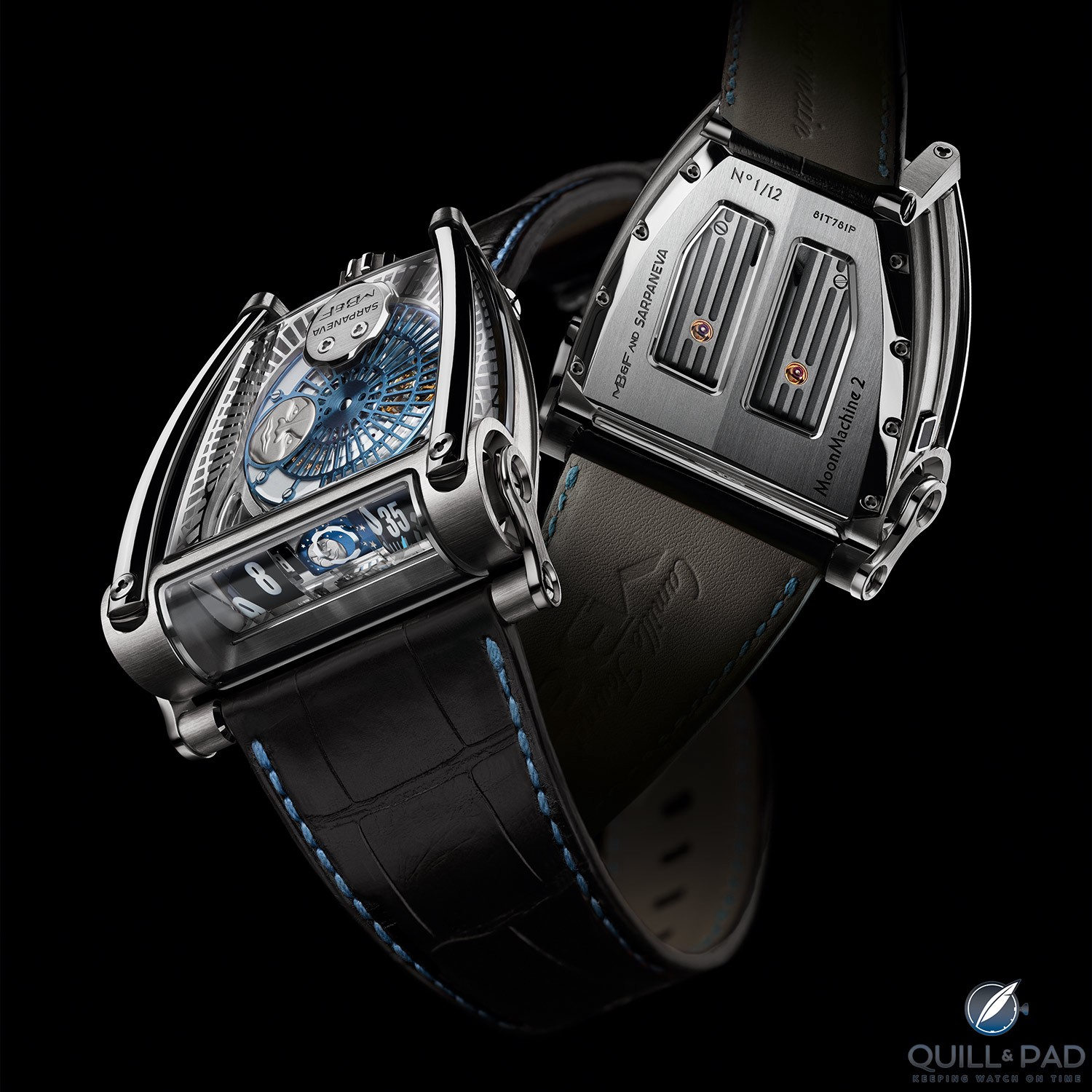 MoonMachine 2 by MB&F with Stepan Sarpaneva