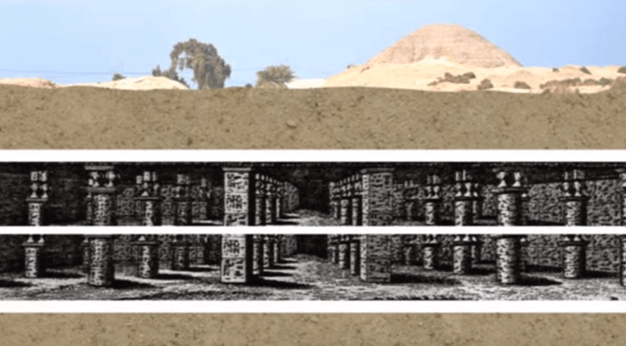 Recreation of Ancient Egyptian Labyrinth