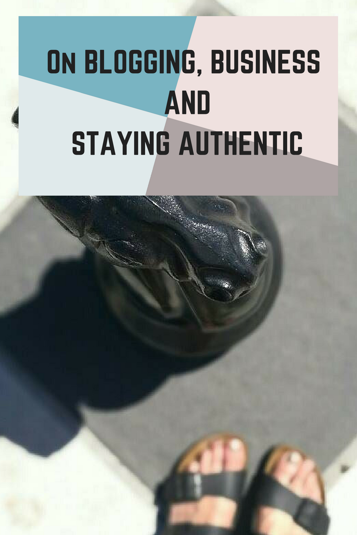 My two cents on how to stay authentic in blogging, whether you are a new blogger or have been around awhile.