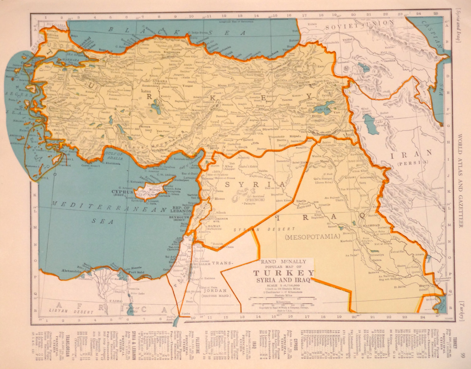 The Problem With Sykes Picot Wasnt The Map It Was The Mapmakers