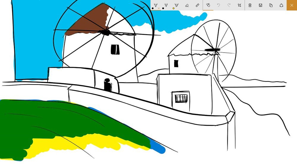 Windows Ink Sketchpad