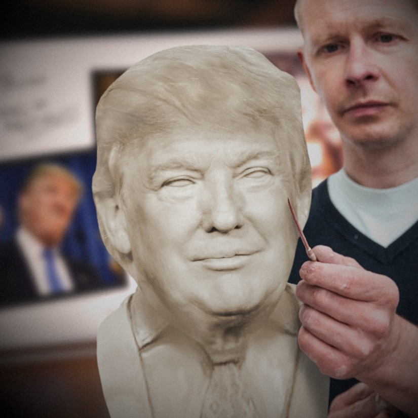 Image result for donald trump hall of presidents
