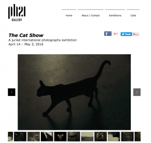 The Cat Show page on PH21 Gallery