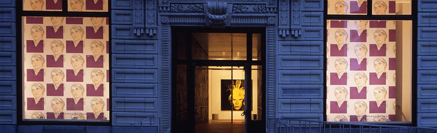 The Andy Warhol Museum, front facade, 1994