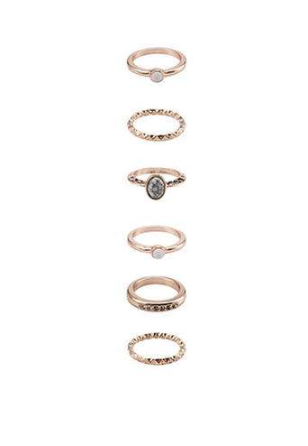 River Island Marble Ring Packs