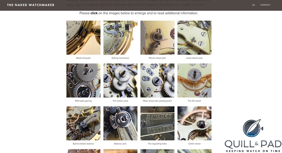 The Naked Watchmaker: Click for more details (site under construction)