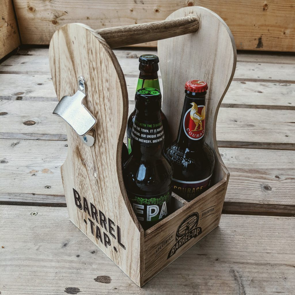 Upcycled Packaging Milk Carrier - Original Packaging