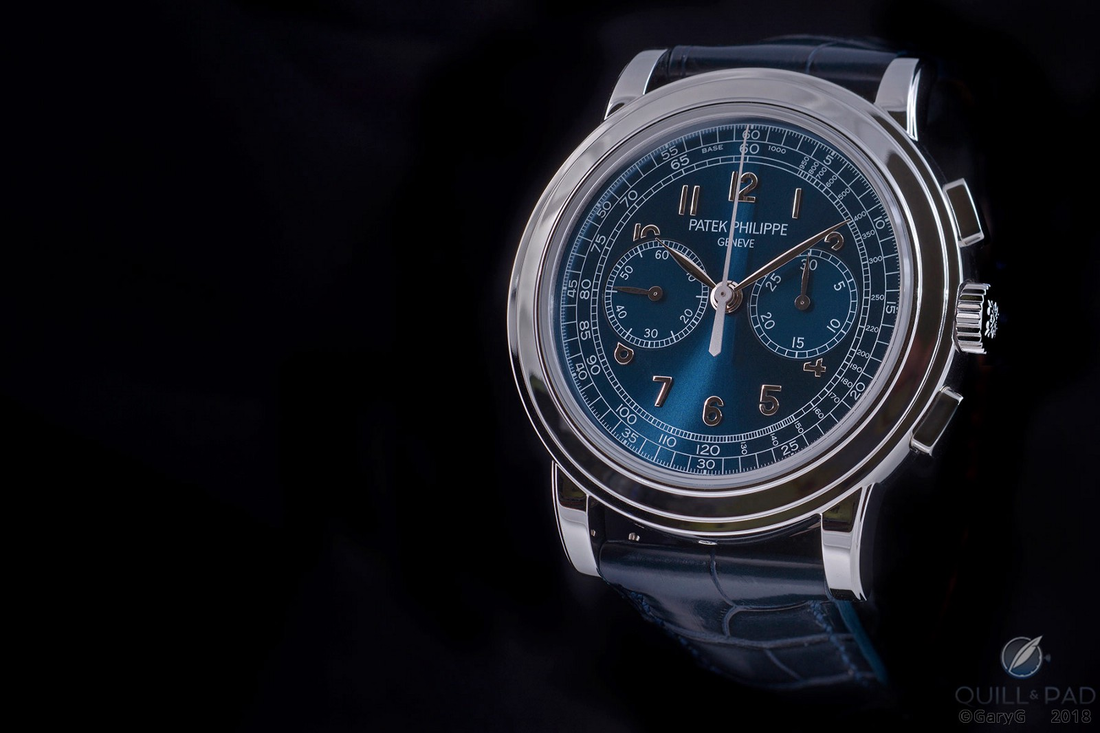Slightly different and oh so rare: Patek Philippe Reference 5070P-013