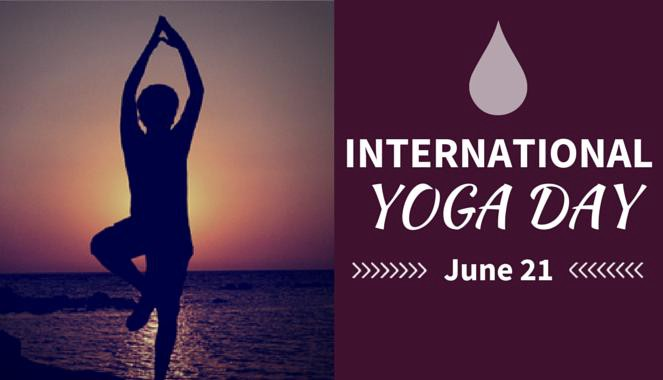 International Yoga Day - June  21