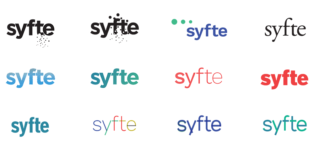 The syfte logo taking shape