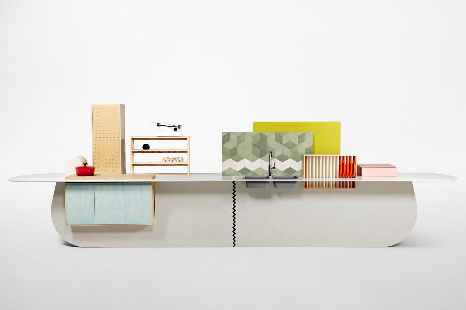 Kitchen by Raw Edges for Caesarstone
