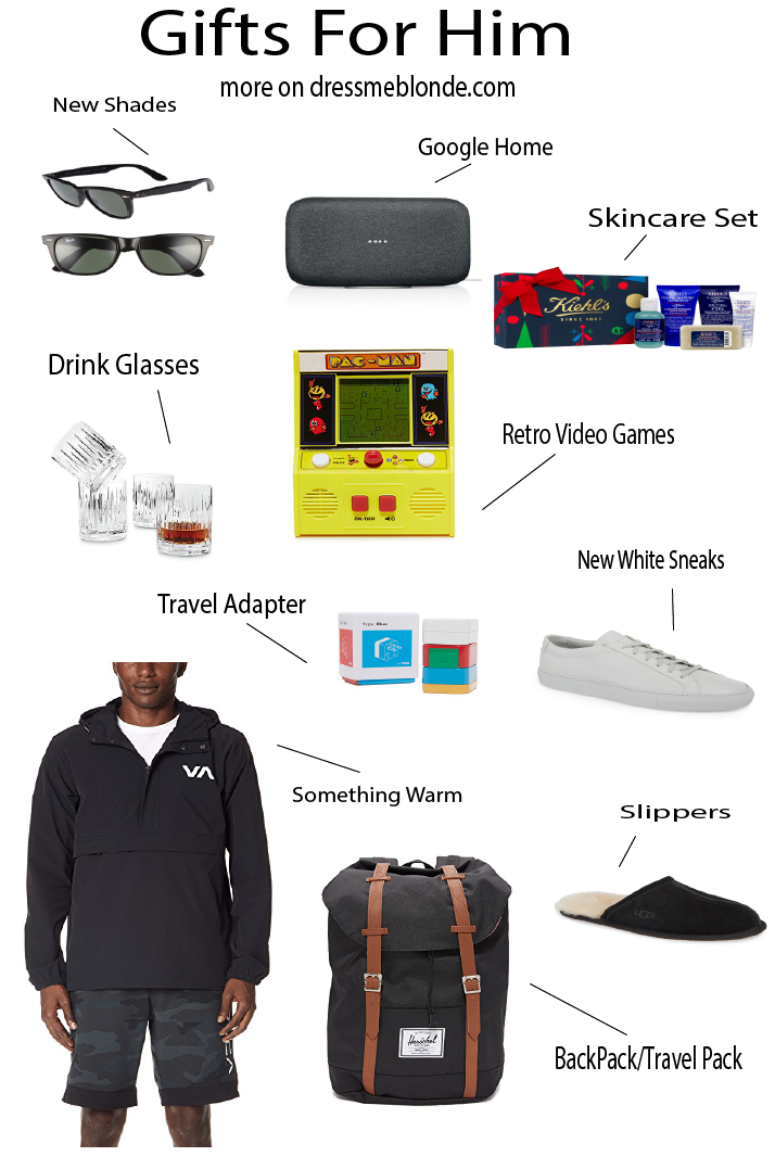 Top 10 Holiday Gifts for Him featured by top Orange County life and style blog, Dress Me Blonde