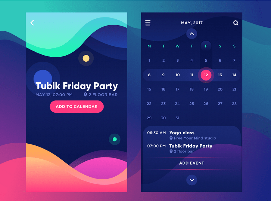 Top 9 Ui Design Trends For Mobile Apps In 2018 Life