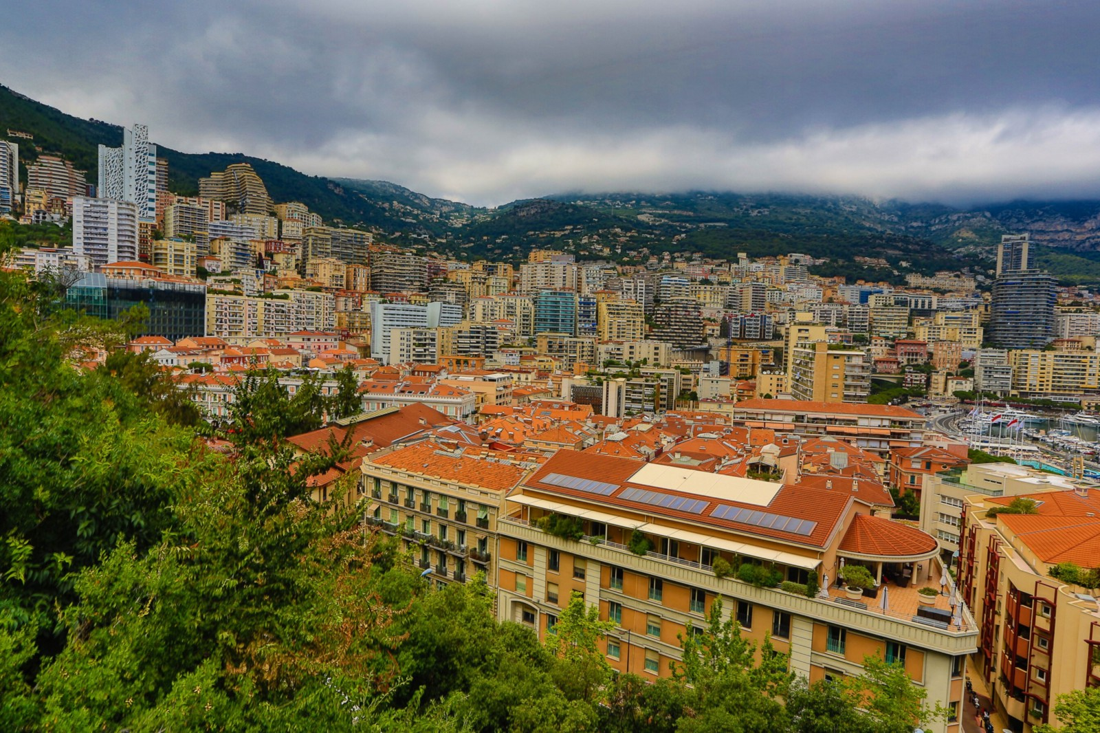 Monaco Is Only 9 Kilometres From Nice But They Are A Windy Slow Kind Of Kilometre Run Along The Coast Road And Give Some Great Views