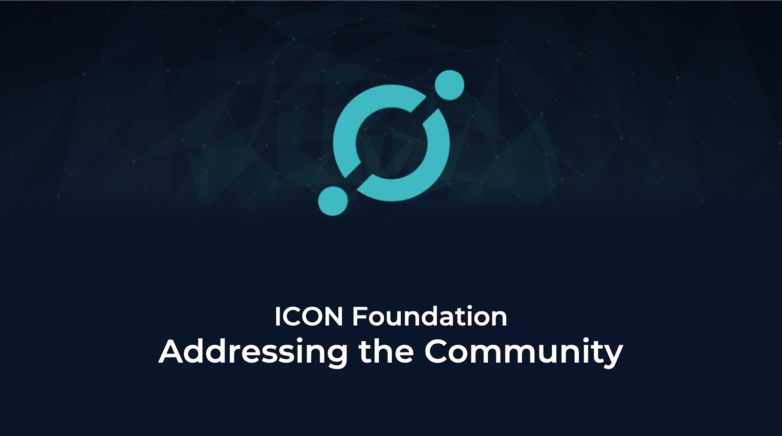 icon foundation addressing the community hello icon world medium