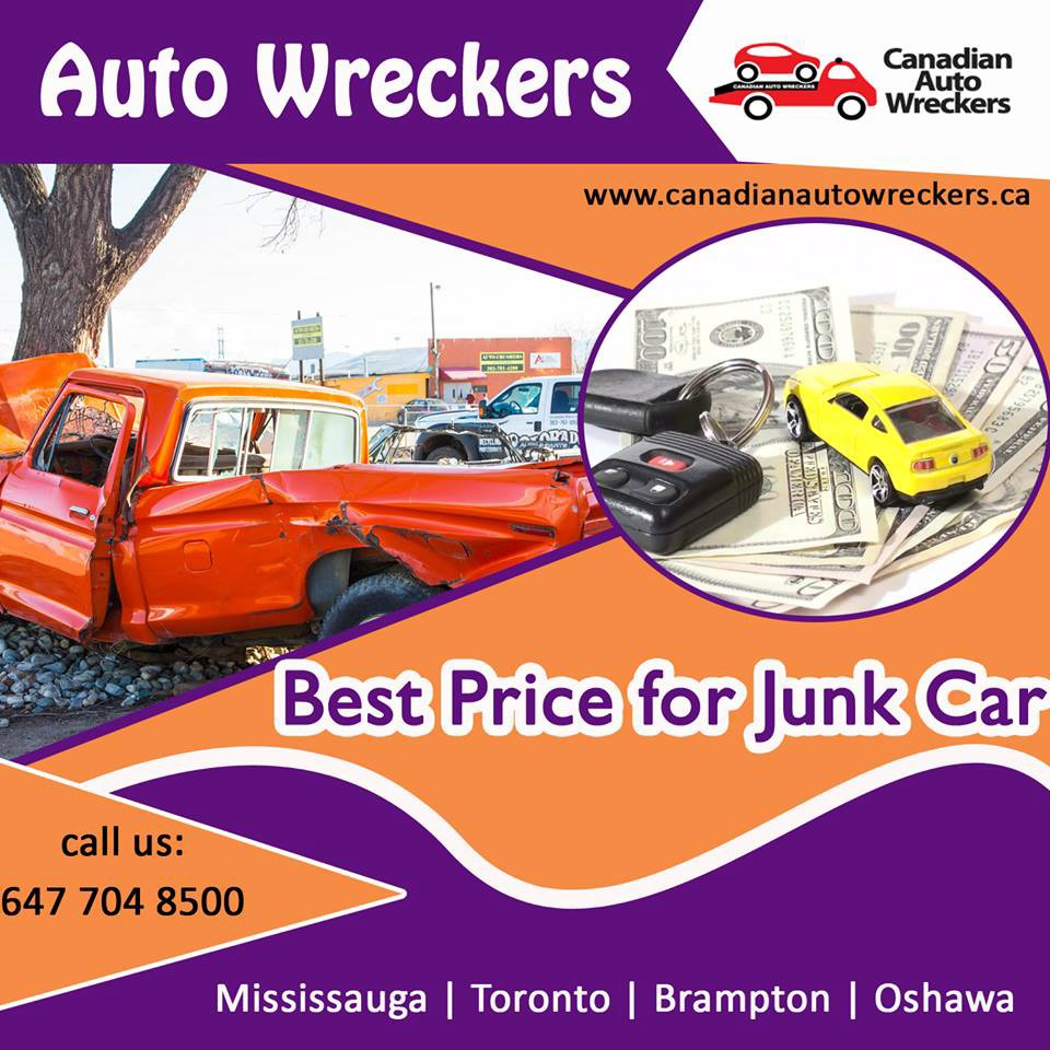 Auto Wreckers Toronto — Get Rid Of Your Junk And Scrap