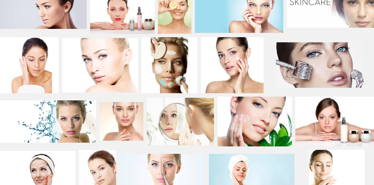 Facial products for young faces