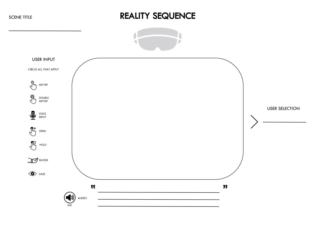 Mixed Reality User Flows A New Kind Of Template Prototypr