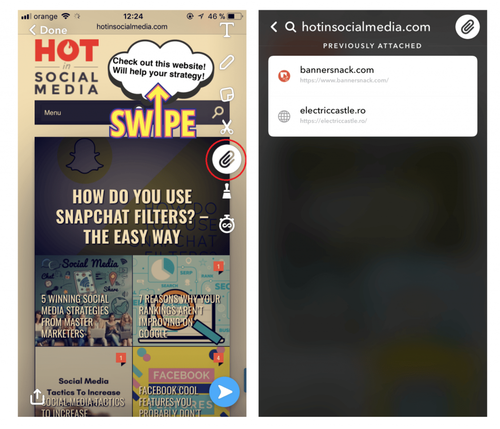 Is the Snapchat Paperclip the Solution to all Snapchat's Problems?