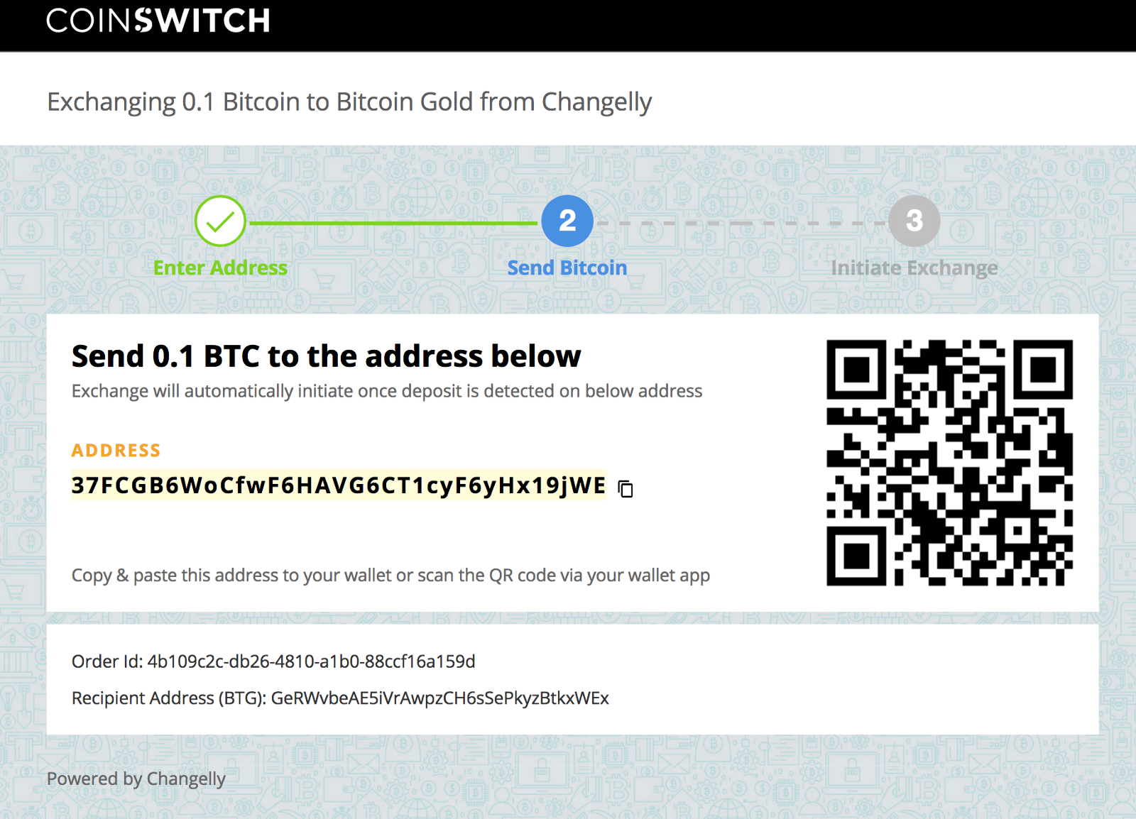 How to buy bitcoin gold btg on coinswitch coinswitch once the exchange will receive your btc then it will initiate the bitcoin gold btg conversion you can always track your transaction on the blockchain ccuart Images
