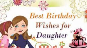 SWEET BIRTHDAY MESSAGE FOR DAUGHTER
