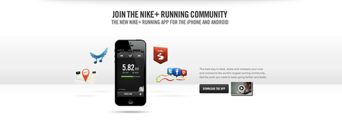 Nike Community is a curated display of their social accounts with an  interaction factor that allows customers to view images and videos right on  Nike.com.